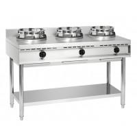 Cuisinière wok à gaz GWH3
