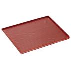 Plaque perforée avec revêtement silicone