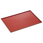 Plaque avec revêtement silicone