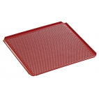 Plaque perforée avec revêtement silicone GN 2/3